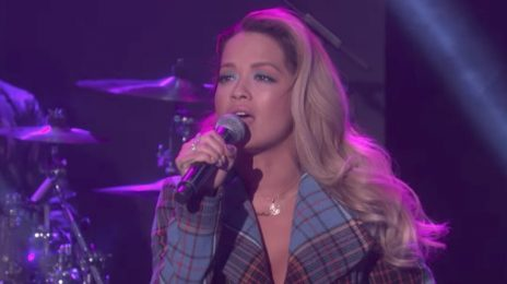 Watch: Rita Ora Performs 'Your Song' On 'Ellen'