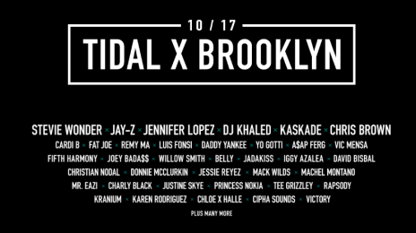 Stream:  'TIDAL X:  Brooklyn' Charity Concert [Jay Z, J.Lo, Cardi B, Chris Brown, & More]
