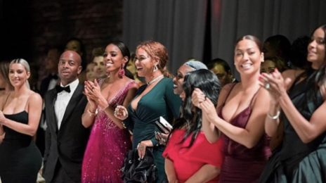 Beyonce, Kelly Rowland, Ciara, Kim Kardashian, & More Beam Together At Serena Williams Wedding