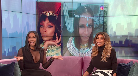 Sheree Whitfield Talks Felon Boyfriend & Kenya Moore's Marriage On 'Wendy'