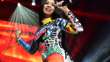 Cardi B Previews New Song 'Cartier Cardi' In Manchester