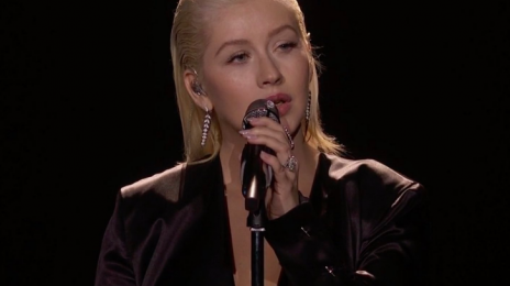 "Christina Aguilera Fans Slam Ciara & P!nk For ""Shading"" Singer's #AMAS Whitney Houston Tribute"