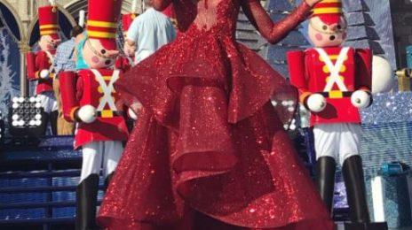Hot Shots:  Ciara & Fifth Harmony Dazzle at Disney Holiday Special [Photos & Video]