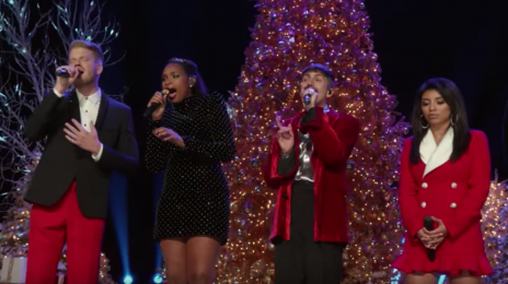 Must See:  Jennifer Hudson Joins Pentatonix For Moving 'How Great Thou Art' Performance