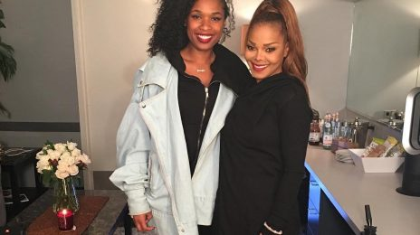 Hot Shot: Jennifer Hudson Meets Janet Jackson