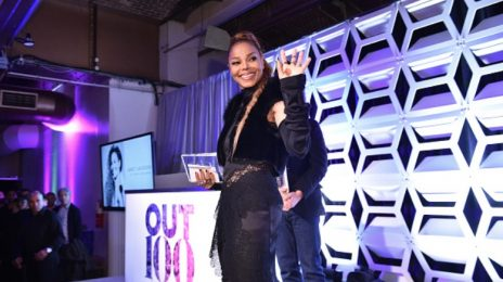 Janet Jackson Receives #OUT100 Icon Award [Video]