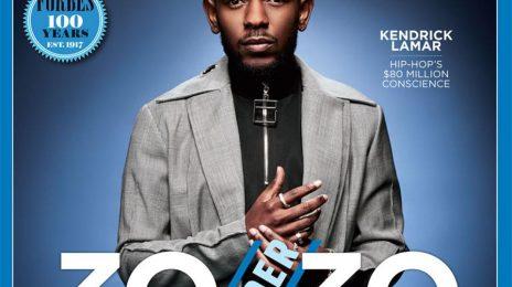 Kendrick Lamar & Cardi B Bring Hip Hop To Forefront of Forbes' '30 Under 30' List