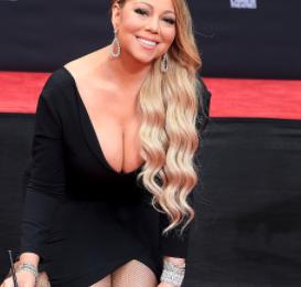 Hot Shots: Mariah Carey Beams At Hand & Footprint Ceremony