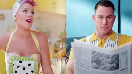 Pink Previews New Video 'Beautiful Trauma' [Starring Channing Tatum]