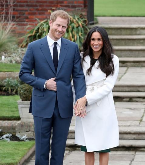 Prince Harry & US Actress Meghan Markle Announce
