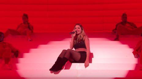 Watch: Rita Ora Performs 'Your Song / Anywhere' Medley At 2017 MTV EMAs
