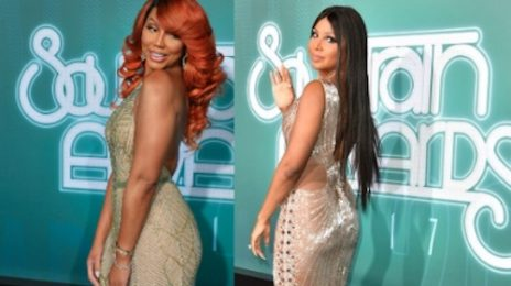 Toni Braxton & Tamar Braxton Blaze 2017 Soul Train Awards
