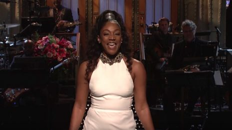 Watch: Tiffany Haddish Rocks 'SNL' As 1st Black Female Comedian To Host