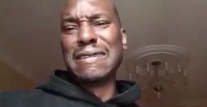 "Tyrese Meltdown! Singer Declares ""I'm Almost Broke ..."