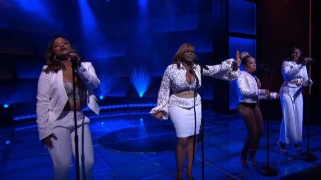Watch: Xscape Wow With 'Who Can I Run To' On 'Steve Harvey'