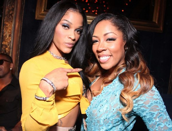 2017 Year In Review: Music's Biggest Beefs - That Grape Juice K Michelle And Joseline Hernandez