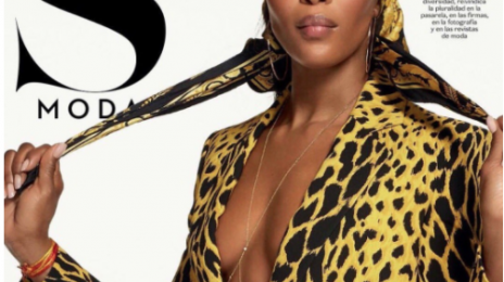 Naomi Campbell Stuns For 'S Moda'