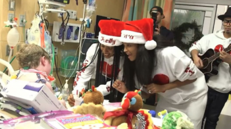 Kelly Rowland & Ciara Perform At The Seattle Children's Hospital