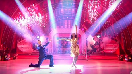Watch: Alexandra Burke Bows Out Of 'Strictly Come Dancing' Finale In Blaze Of Glory