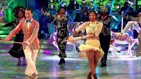 Watch: Alexandra Burke Lights Up 'Strictly Come Dancing' [Week 11]