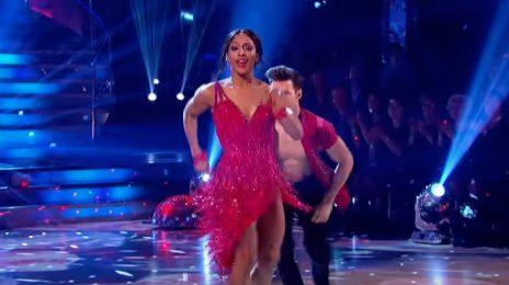 Watch: Alexandra Burke Earns Perfect Score On 'Strictly Come Dancing' [Week 12]