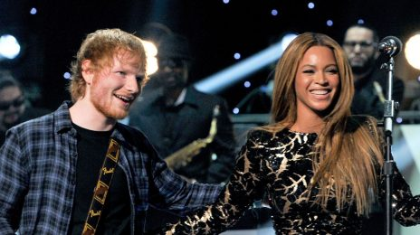 Beyonce & Ed Sheeran Reign At #1 For Third Week On Billboard Hot 100