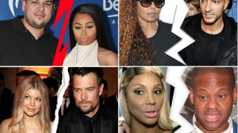 2017 Year In Review:  Celebrity Divorces & Breakups That Rocked Headlines