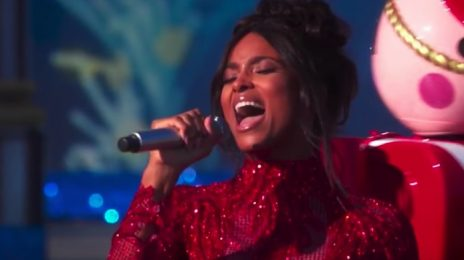 Watch: Ciara Belts 'Rockin' Around The Christmas Tree' At Disney's Christmas Celebration [Performance]