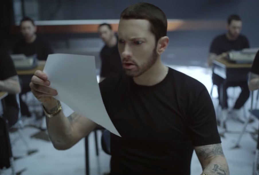 New Video: Eminem - 'Walk On Water (ft. Beyonce)' - That ...