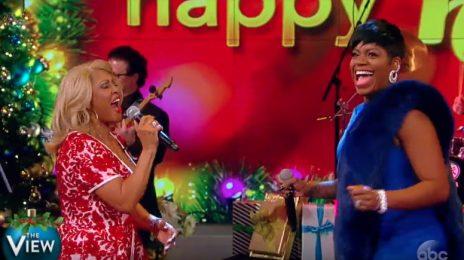 Watch: Fantasia & Darlene Love Rock 'The View' [Performance]