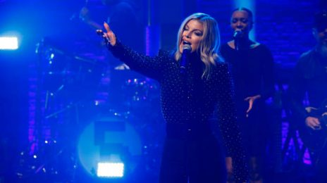 Did You Miss It? Fergie Brings the Heat To 'Taraji's White Hot Holidays' & 'Late Night'