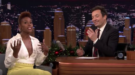 Issa Rae Visits 'Fallon' / Spills On The 3 New Shows She's Developing At HBO