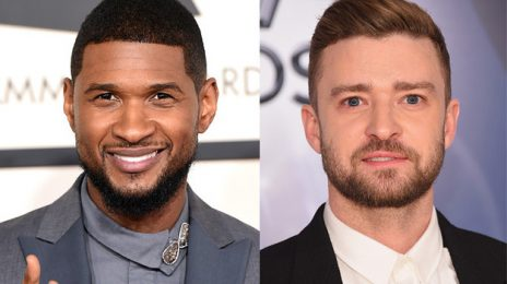 Usher Hits The Studio With... Justin Timberlake [Photo]