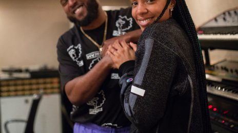Kelly Rowland Hits The Studio With DJ Camper For New Album
