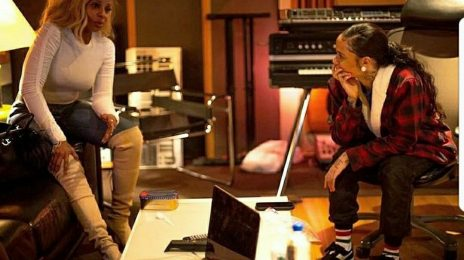 Mary J. Blige Hits The Studio With Kehlani