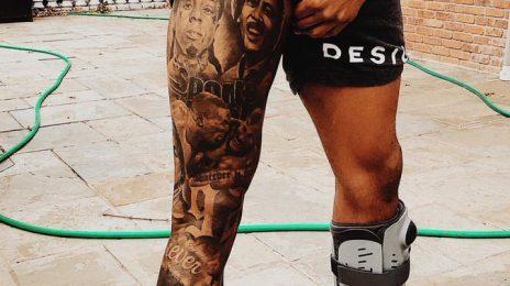 Odell Beckham Jr Unveils Tattoos Of Legends Michael Jackson, Prince, Obama, & More