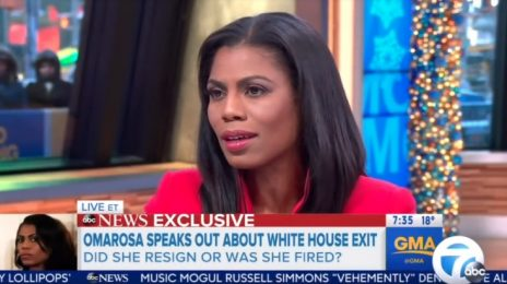 Omarosa Talks White House Axe On 'GMA' / Insists She Wasn't Binned