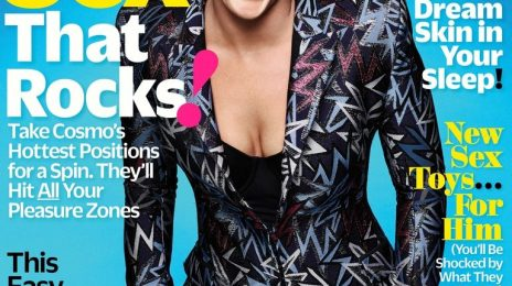 Hot Shots:  P!nk Covers 'Cosmopolitan' January 2018 Issue