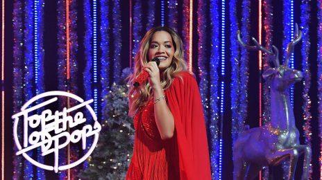 Watch: Rita Ora & Ed Sheeran Rock Christmas 'Top Of The Pops'