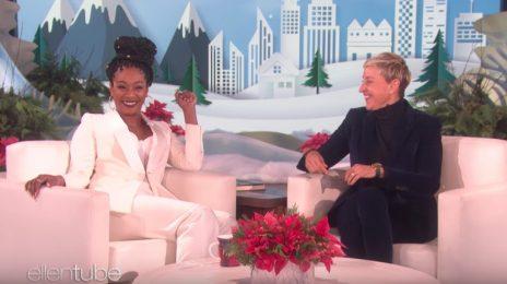 Tiffany Haddish Electrifies 'Ellen' / Talks Dinners With Taylor Swift & Barbra Streisand