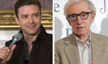 Justin Timberlake Scorched Over Woody Allen Friendship #TimesUp