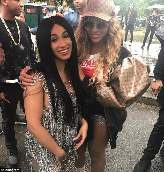 Cardi B Son: Chart Check: Cardi B Beats Beyonce Billboard Record
