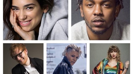 BRIT Awards 2018: Pink, Kendrick Lamar, Ed Sheeran, Little Mix, Dua Lipa, & More Score Nominations [Full List]
