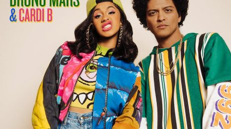 Chart Check [Hot 100]:  Bruno Mars & Cardi B Enjoy Top 40 Debut Despite Short Sales Week