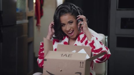 Cardi B Teases Amazon Super Bowl Commercial