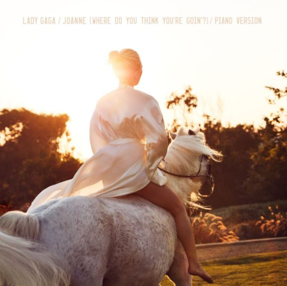 New Song: Lady Gaga - 'Joanne (Where Do You Think You're ...Do What You Want Lady Gaga Single Cover