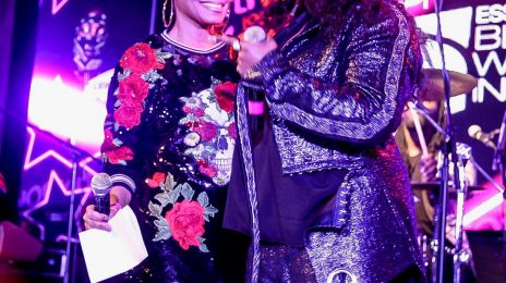 Watch: Janet Jackson Presents Missy Elliott With Special Honor At 'ESSENCE Black Women In Music 2018'
