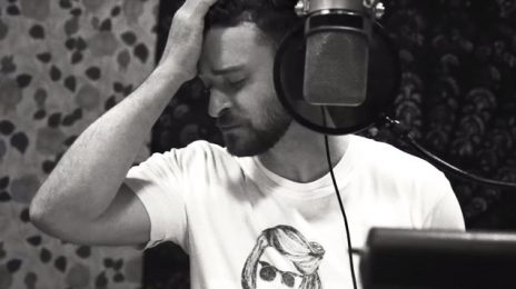 Behind the Scenes:  Justin Timberlake in the Studio Creating New Song 'Filthy' [Video]