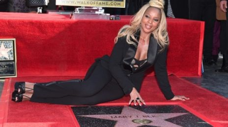 Mary J. Blige Receives Star On Hollywood Walk Of Fame On Her Birthday