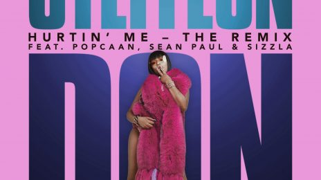 New Song: Stefflon Don - 'Hurtin Me' [Remix] (ft. Sean Paul, Popcaan & Sizzla)